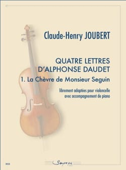 Claude-Henry Joubert - 1. Monsieur Seguin's Goat - Cello and Piano - Sheet Music - di-arezzo.com