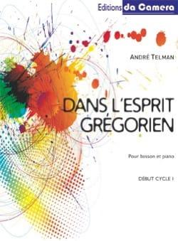 Dans l'esprit grégorien André Telman Partition Basson - laflutedepan