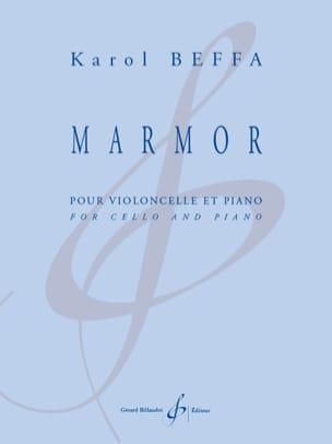 Karol Beffa - Marmor - Violoncelle et piano - Partition - di-arezzo.ch