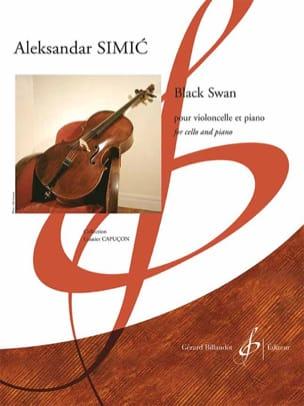 Aleksandar Simic - Black Swan - Cello and Piano - Sheet Music - di-arezzo.com