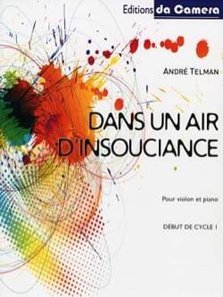Dans un air d'insouciance André Telman Partition Violon - laflutedepan