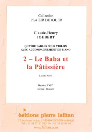 Claude-Henry JOUBERT - The Baba and the pastry - Sheet Music - di-arezzo.com