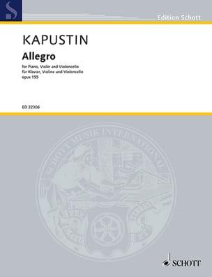 Nikolai Kapustin - アレグロ、オスス155 - 楽譜 - di-arezzo.jp