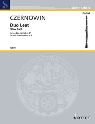 Chaya Czernowin - Duo Leat Slow Duo - Partition - di-arezzo.fr