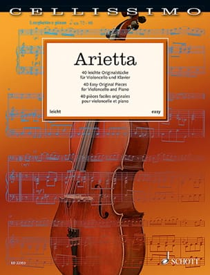 - Arietta - Cello and piano - Sheet Music - di-arezzo.com