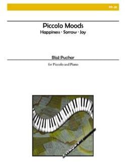 Piccolo moods - Blaz Pucihar - Partition - laflutedepan.com