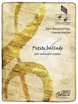 Jean-Bernard PLAYS et Claudy MAHIEU - Little Ballad - Sheet Music - di-arezzo.com