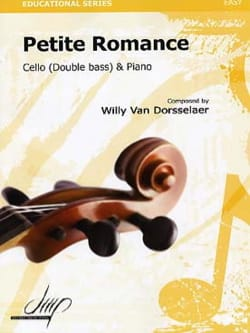 Willy VAN DORSSELAER - Petite romance - Partition - di-arezzo.fr