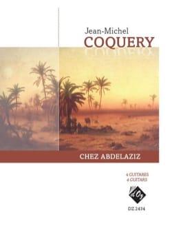 chez Abdelaziz - Jean-Michel Coquery - Partition - laflutedepan.com