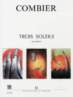 Trois Soleils Jérôme Combier Partition Guitare - laflutedepan