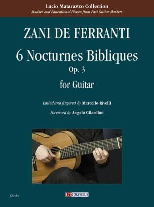 6 Nocturnes Bibliques opus 3 laflutedepan