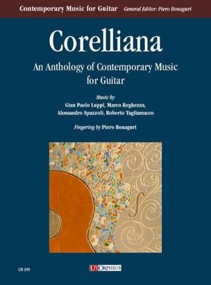 - Corelliana : Anthology of contemporary music for guitar - Partition - di-arezzo.fr