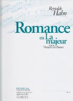 Reynaldo Hahn - Romance en la Majeur - Partition - di-arezzo.fr