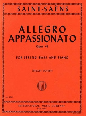 Camille Saint-Saëns - Allegro appassionato opus 43 in minor SI - Sheet Music - di-arezzo.com