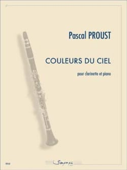 Pascal Proust - Colors of the sky - Sheet Music - di-arezzo.com