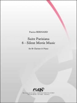 Patrice Bernard - Suite Parisiana : 6. Silent movie music - Partition - di-arezzo.fr