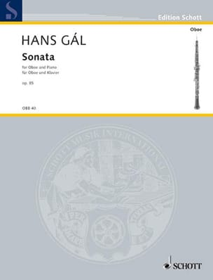 Hans Gal - Sonata op. 85 - Partition - di-arezzo.fr