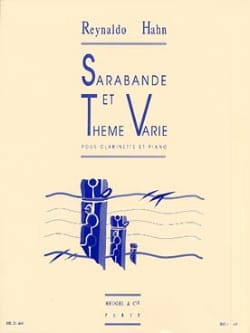 Reynaldo Hahn - Sarabande and Varied Theme - Sheet Music - di-arezzo.com