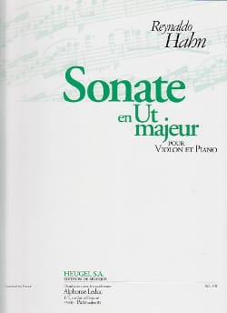 Reynaldo Hahn - Sonata in C major - Sheet Music - di-arezzo.co.uk