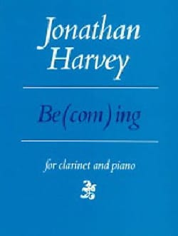 Jonathan Harvey - Becoming - Sheet Music - di-arezzo.com