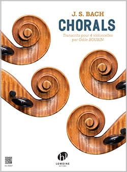 BACH - Chorals - 4 cellos - Sheet Music - di-arezzo.co.uk