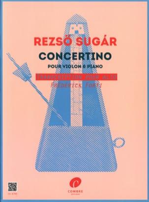 Reszö Sugar - Concertino - Alto et piano - Partition - di-arezzo.fr