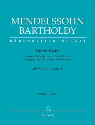 MENDELSSOHN - Der 98. Psalm - Fahrer - Noten - di-arezzo.de