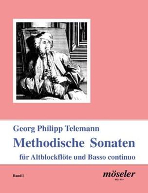 Methodische Sonaten Band 1 - Flûte à bec et BC - laflutedepan.com