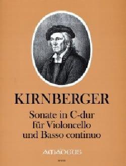 Sonate en Do Majeur - Johann Philipp Kirnberger - laflutedepan.com