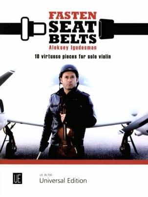 Aleksey Igudesman - Fasten Seat Belts - Violon solo - Partition - di-arezzo.fr