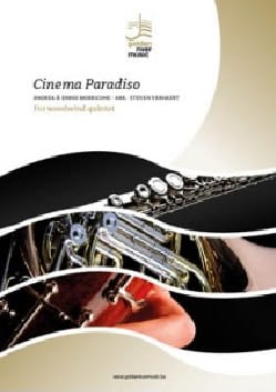 Ennio Morricone - Cinema Paradiso - Woodwind quintet - Sheet Music - di-arezzo.co.uk