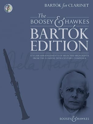 BARTOK - Bartok for Clarinet - Clarinet and piano - Sheet Music - di-arezzo.co.uk