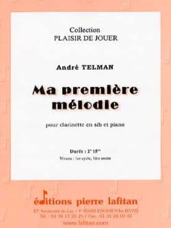 André Telman - Ma Première mélodie - Partition - di-arezzo.fr