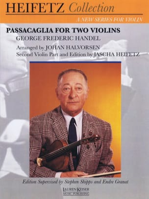 Georg Friedrich Haendel - Passacaglia - Partition - di-arezzo.fr