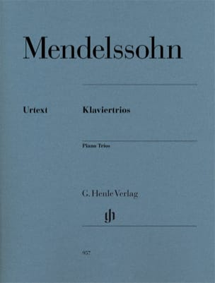 MENDELSSOHN - Trios - Violin, cello and piano - Sheet Music - di-arezzo.co.uk