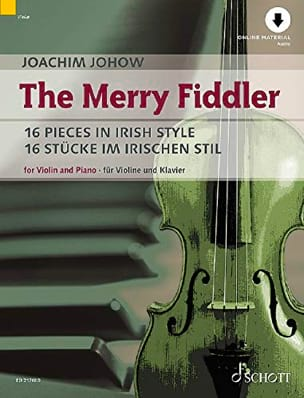 Joachim Johow - The Merry Fiddler - Violon et piano - Partition - di-arezzo.fr
