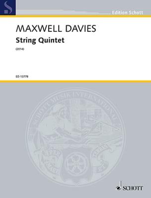 String Quintet - Conducteur et Parties laflutedepan