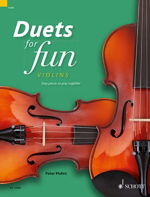- Duets for Fun - 2 Violons - Partition - di-arezzo.fr