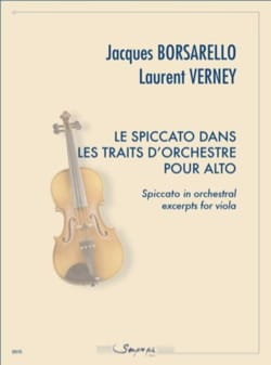 Borsarello Jacques / Verney Laurent - Spiccato in orchestral strokes for viola - Sheet Music - di-arezzo.com