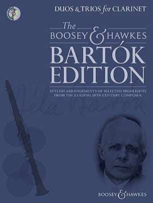 BARTOK - Duets and Trios for Clarinets - Sheet Music - di-arezzo.co.uk