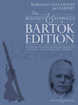 BARTOK - Romanian Folk Dances - Clarinet and Piano - Sheet Music - di-arezzo.co.uk