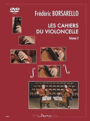 Frédéric Borsarello - The Cahiers du Cello Volume 2 - Sheet Music - di-arezzo.com