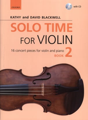Solo Time for Violon 2 - Violon et piano - laflutedepan.com