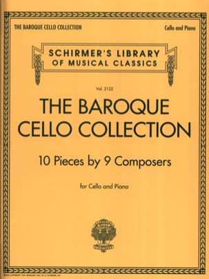 - The Baroque Cello Collection - Cello and Piano - Sheet Music - di-arezzo.com