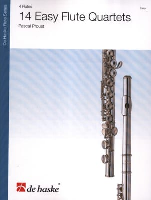 Pascal Proust - 14 Easy Flute Quartets - Sheet Music - di-arezzo.co.uk