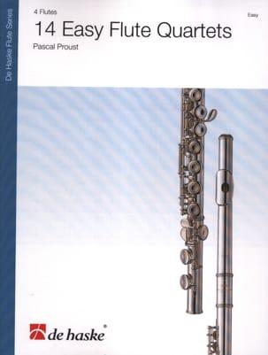 Pascal Proust - 14 Easy Flute Quartets - Partition - di-arezzo.fr