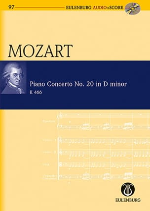 MOZART - Piano Concerto No. 20, Kv 466 - Conductor - Sheet Music - di-arezzo.co.uk