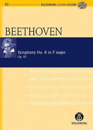 BEETHOVEN - Symphonie n° 8, op. 93 - Conducteur - Partition - di-arezzo.fr