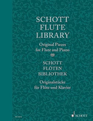 - Schott Flute Library - Original pieces - Partition - di-arezzo.fr