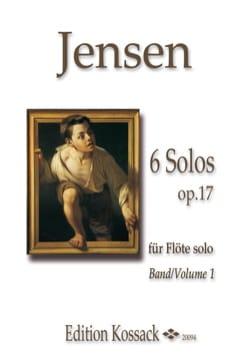 Niels Peter Jensen - 6 Solos op. 17 vol. 1 - Flute alone - Sheet Music - di-arezzo.com